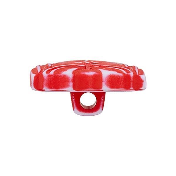 Bouton polyamide Vareuse - rouge