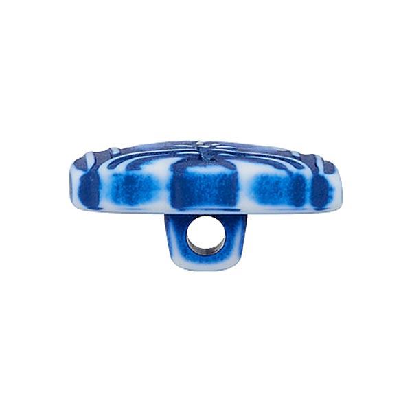 Bouton polyamide Vareuse - bleu