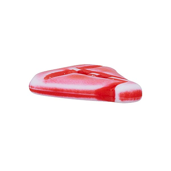 Bouton polyamide Voilier - rouge