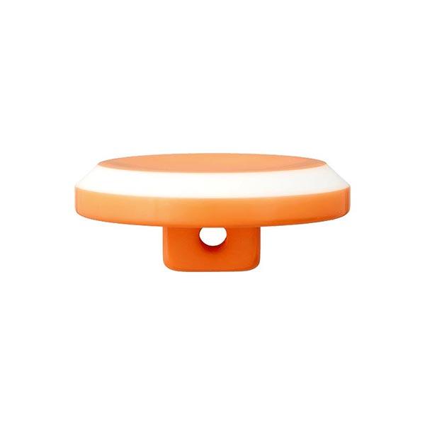 Bouton à queue polyester – orange