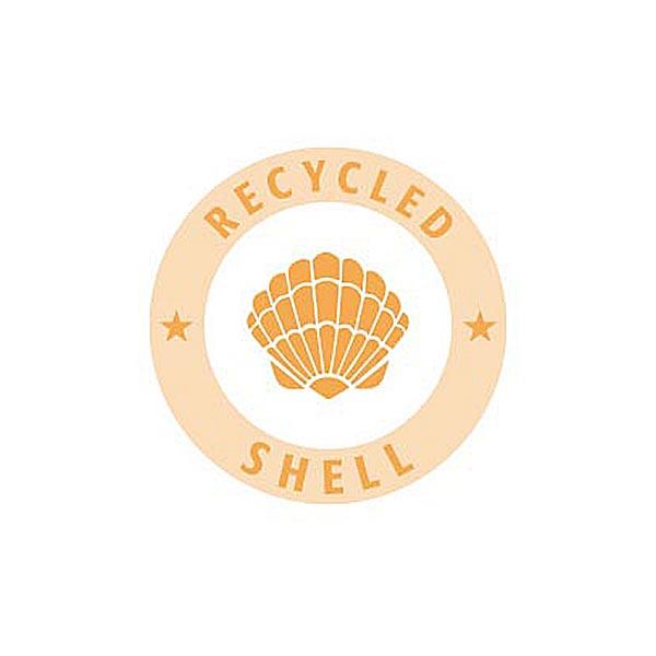 Bouton polyester/nacre Recyclé