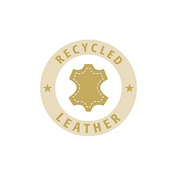 Bouton cuir 4 trous Recyclé