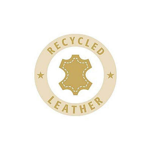 Bouton cuir à queue Recyclé