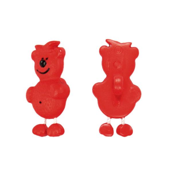 Bouton en plastique, big bear 48