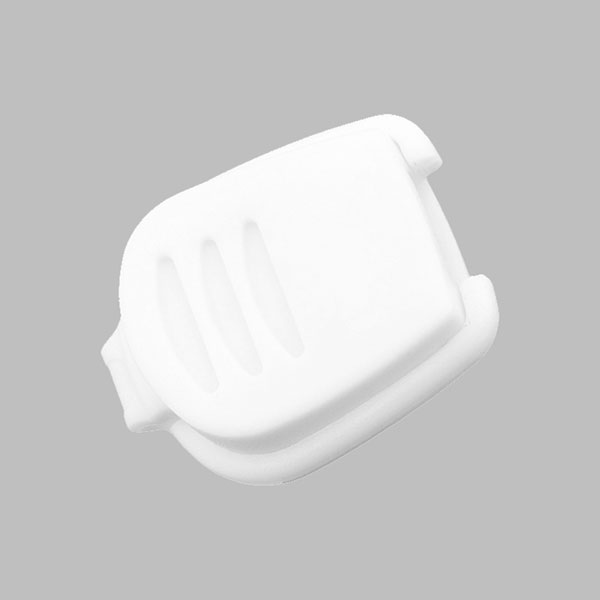 Extrémité de cordon - Clip, 5 mm | 1 – blanc