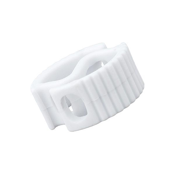 Bloqueur de cordon / passage 6mm – blanc