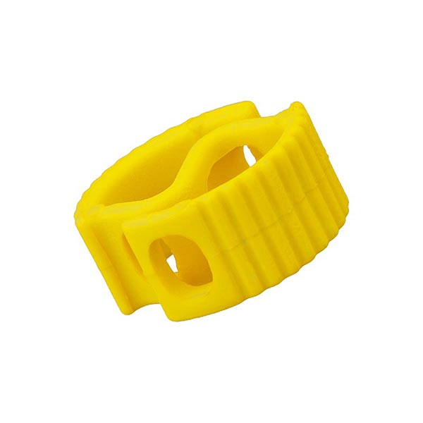 Bloqueur de cordon / passage 6 mm – jaune