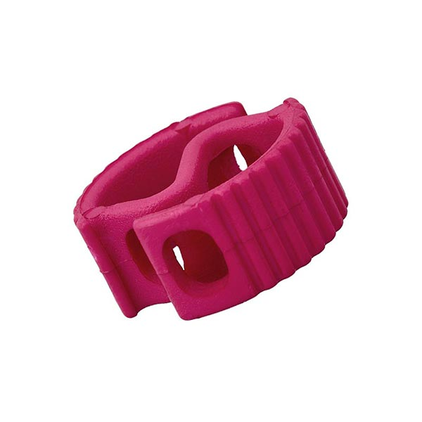 Bloqueur de cordon / passage 6mm – rose vif