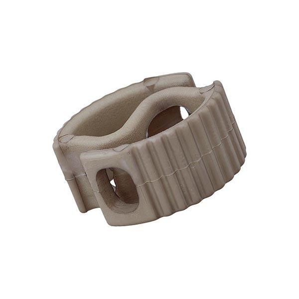 Bloqueur de cordon / passage 6mm – gris