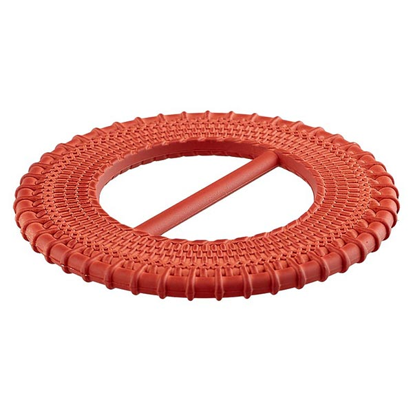 Boucle polyester [ 50 mm  ] – rouge-orange