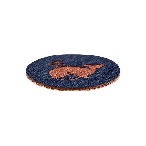 Pièce décorative baleine [ 23 mm ] – bleu marine