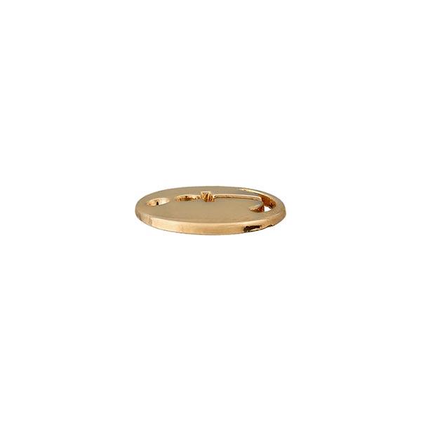Zierteil Anker [ Ø 12 mm ] – gold