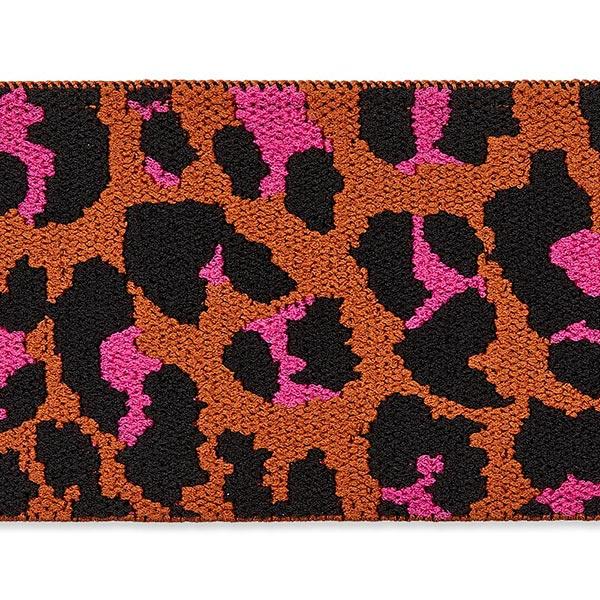 Gummiband Leo – orange/pink