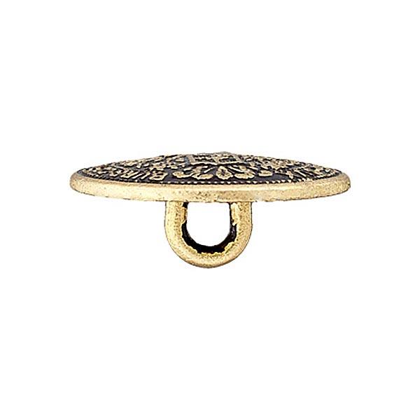 Set de boutons métalliques avec chaîne - doré