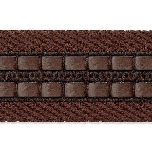 Sangle sac et ceinture [ Largeur : 35 mm ] – marron