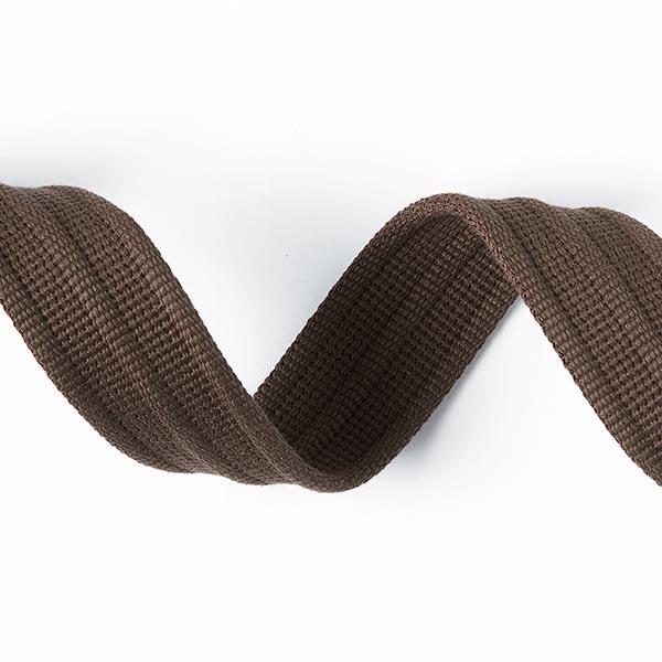 Sangle pour sac Uni [40 mm] - marron foncé