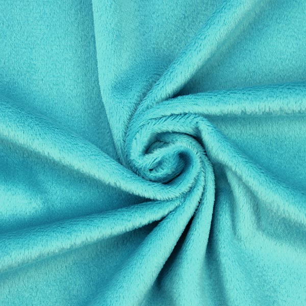 Nicki SHORTY [1 m x 0,75 m | Flor: 1,5 mm] | Kullaloo – petrol