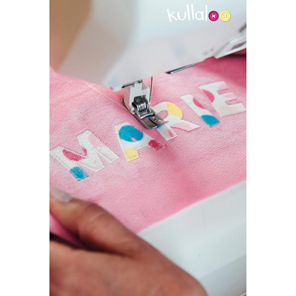 Nicki SHORTY [1 m x 0,75 m | Flor: 1,5 mm] 16 - rosa | Kullaloo
