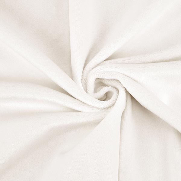 Nicki SHORTY [1 m x 0,75 m | Flor: 1,5 mm] 20 - weiss | Kullaloo