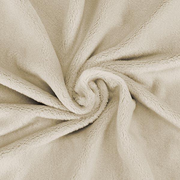 Peluche SNUGLY [1 m x 0,75 m | Poil: 5 mm] 2 - beige | Kullaloo