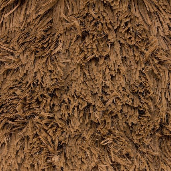 Peluche poilue SHAGGY [1 M x 0,75 M | Poil: 30 mm] 6 - marron | Kullaloo