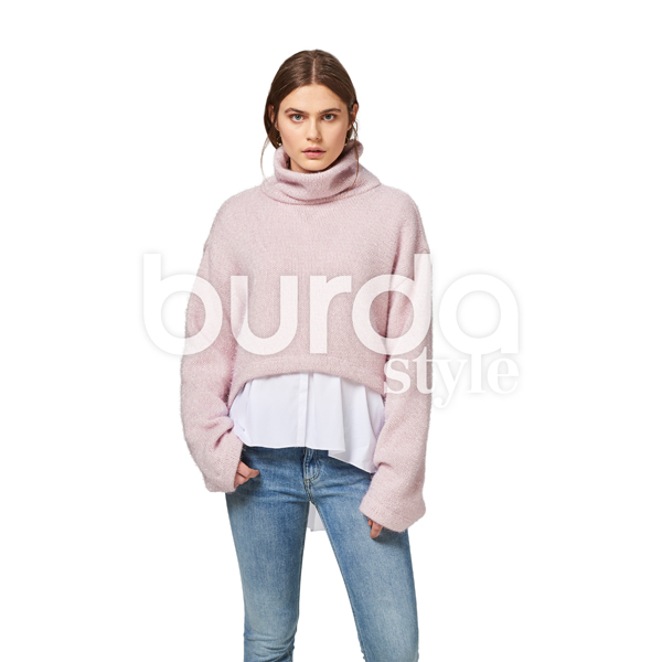 Pull | Tunique, Burda 6476 | 32 - 44