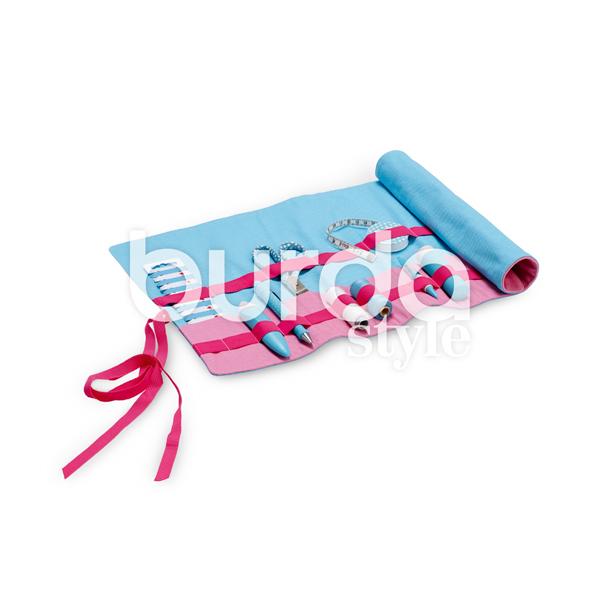 Accessoires de rangement   sac à outils roulé   boîte   trousses, Burda 6493