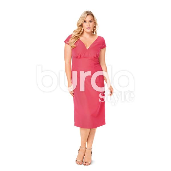Plus Size - Robe, Burda 6549