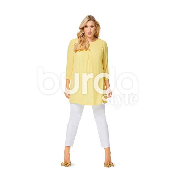Plus Size - Blouse, Burda 6550