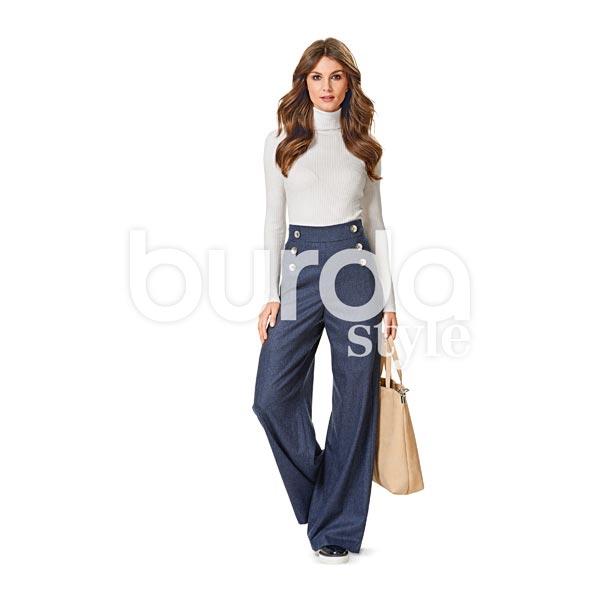 Pantalon, Burda 6573