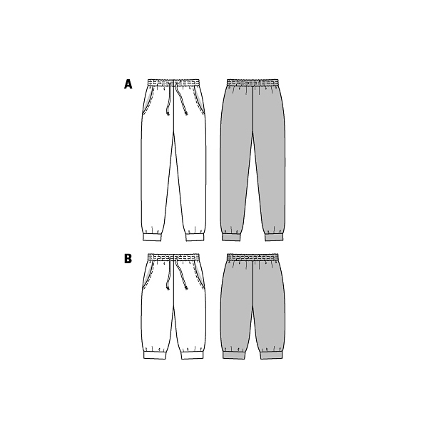 Pantalon, Burda 6659