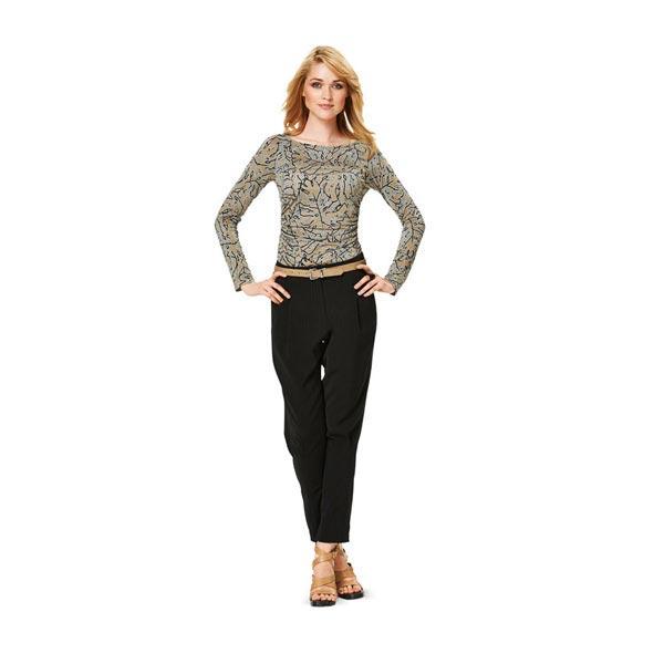 T-shirt / robe -à manches raglan, Burda 6910