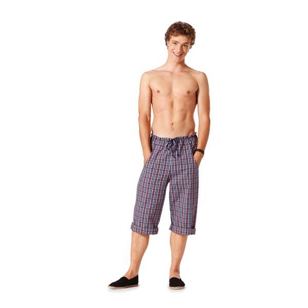 Pantalon de jogging pour Elle & Lui, Burda 7230