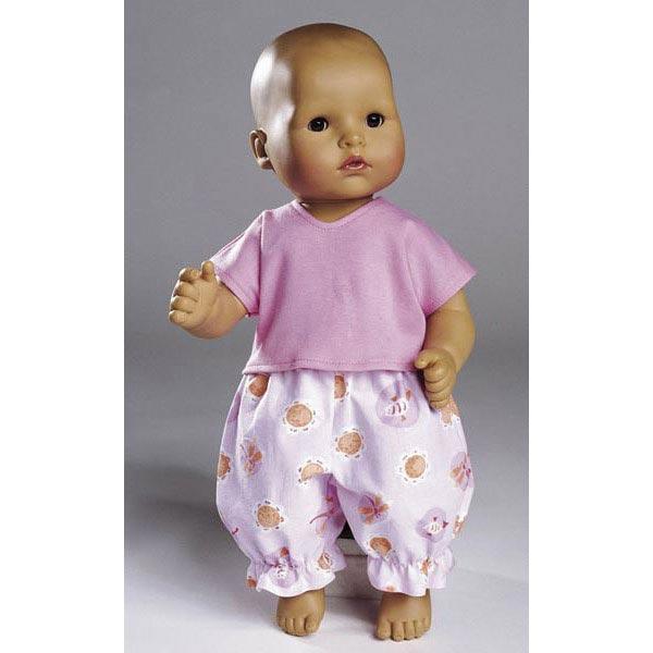 Habits de poupée, Burda 8308