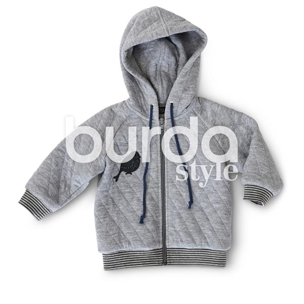 Veste | Blouson | Capuche | Pantalon, Burda 9349 | 68 - 98