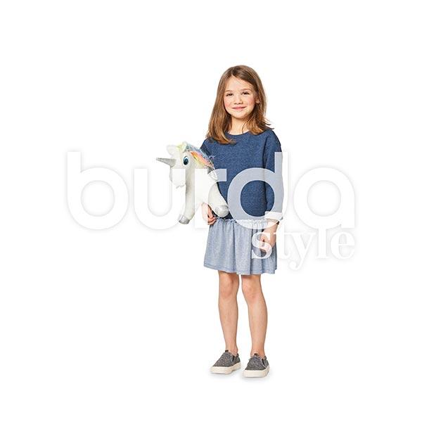 T-shirt | Robe fluide, Burda 9351 | 92 - 122