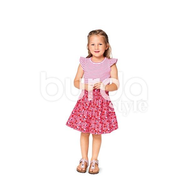 Bambins/Enfants Shirt /Jupe, Burda 9364