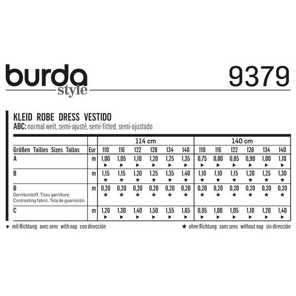 Robe, Burda 9379