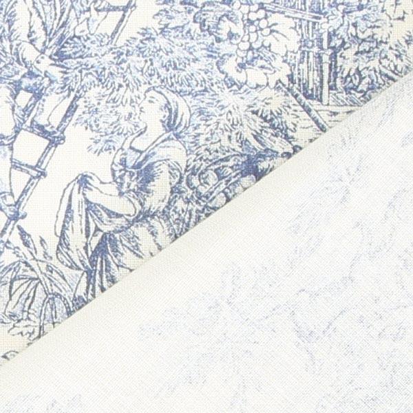 Baumwollstoff kleine Pastorale 280 cm – blau