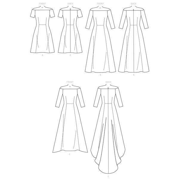 Robe, Butterick 6639 | 40-48