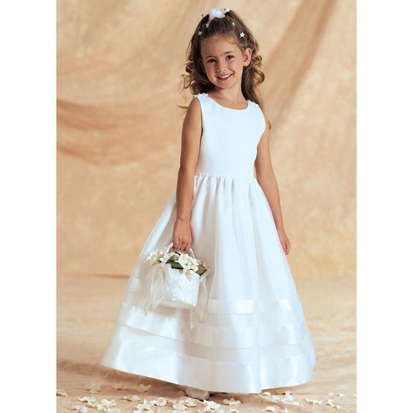 Robe enfant, Butterick 3351 122 - 134