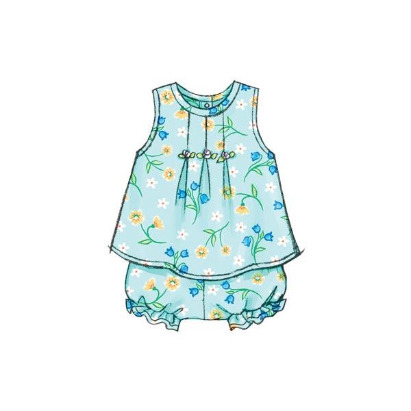 Vêtements bébé, Butterick 3405 | 74 - 80