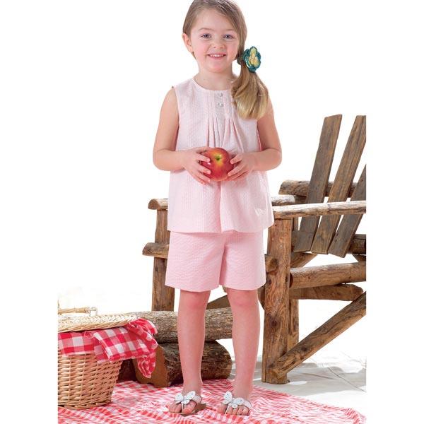 Robe enfant, Butterick 4176 122 - 134