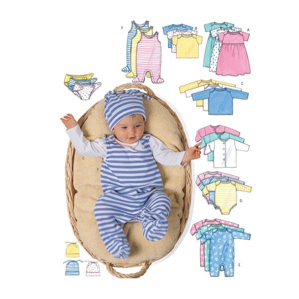 Veste bébé, Butterick 5585 71 - 81