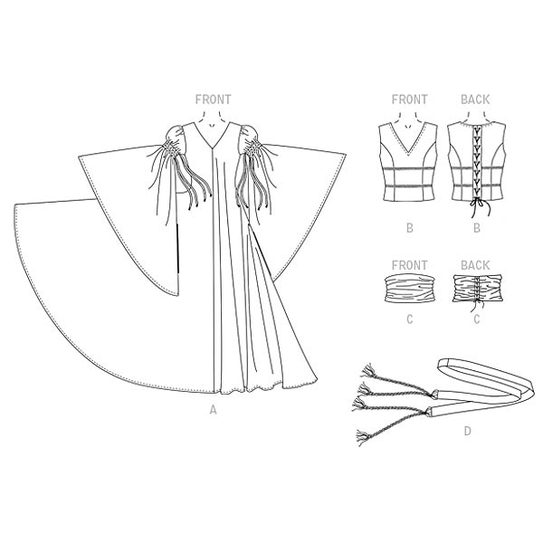 Robe | Accessoires, Cosplay Vault Collection 2028 | 32 - 38