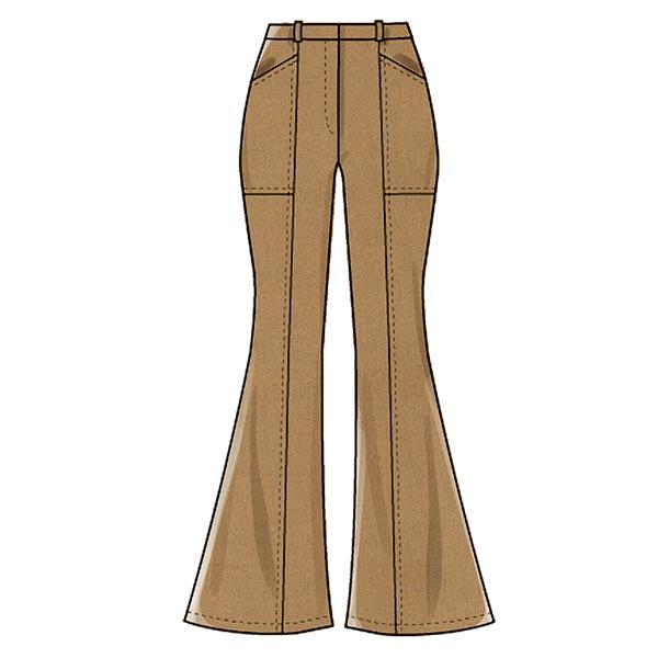 Pantalon évasé, McCall´s 8007| 40-48