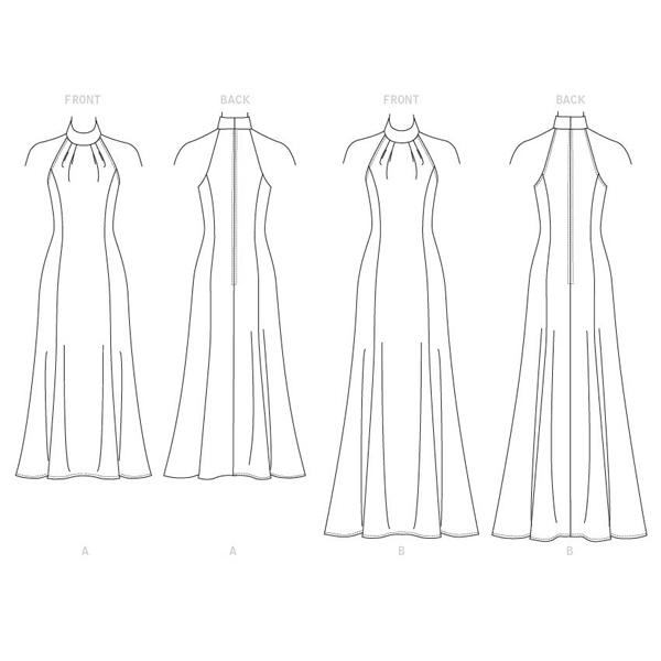 Robe, Vogue 9373 | 38-46