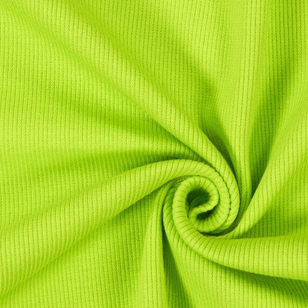 Bordure tricotée – vert tilleul