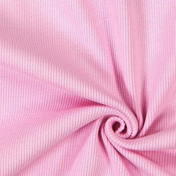 Bordure tricotée – rosé