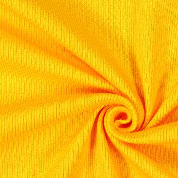 Bordure tricotée – jaune